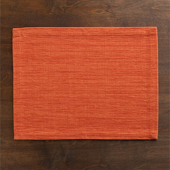 Grasscloth Tiger Lily Placemat