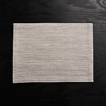 Grasscloth Dove Placemat