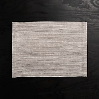 Placemats Vinyl Cloth Amp Woven Crate And Barrel