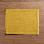 Grasscloth Mustard Placemat
