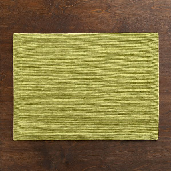 Grasscloth Pear Placemat