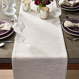 Holiday and Christmas Table Linens Crate and Barrel