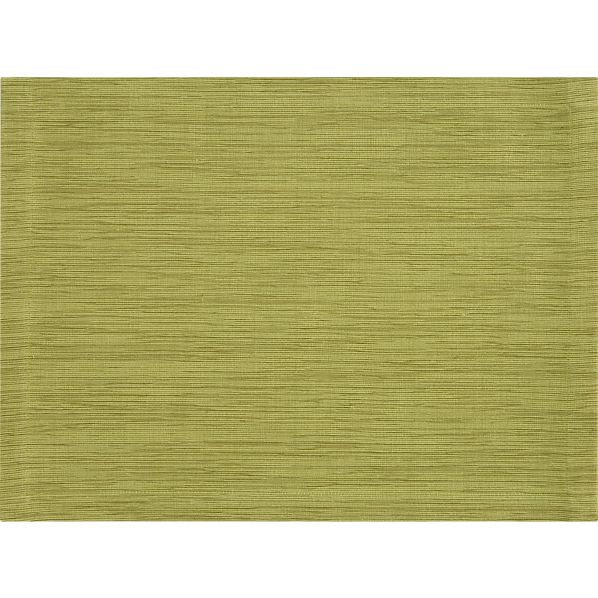 Grasscloth Lemongrass Placemat