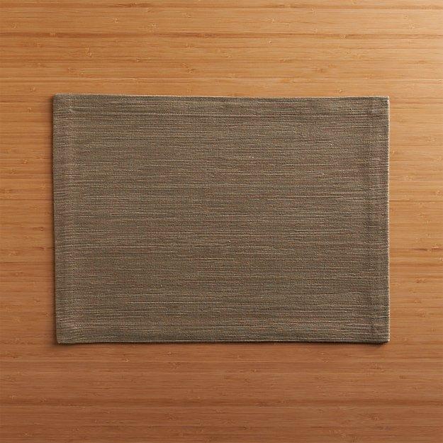 Grasscloth Brindle Placemat