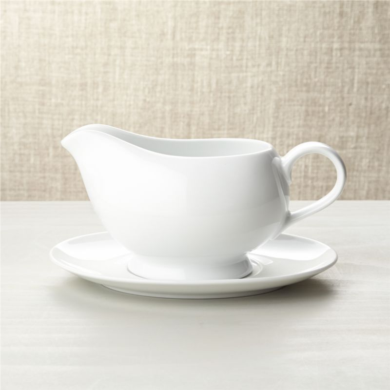 Gravy Boat With Saucer Reviews Crate And Barrel