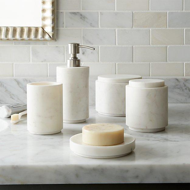 Graydon Marble Bath Accessories