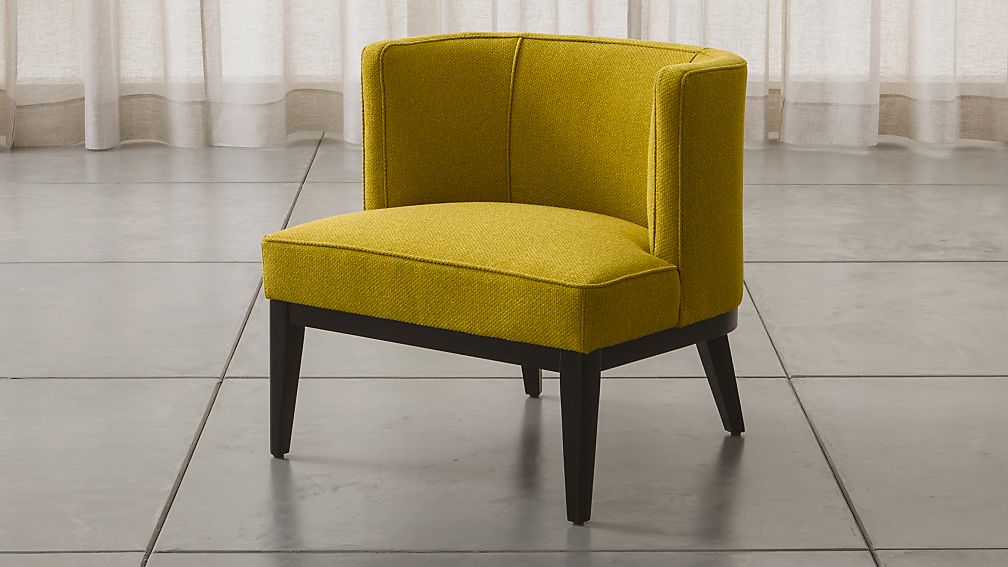 Grayson Green Barrel Chair Crate and Barrel