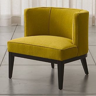 yellow living room chair. Grayson Chair Chairs  Swivel Rocking and Accent Crate Barrel