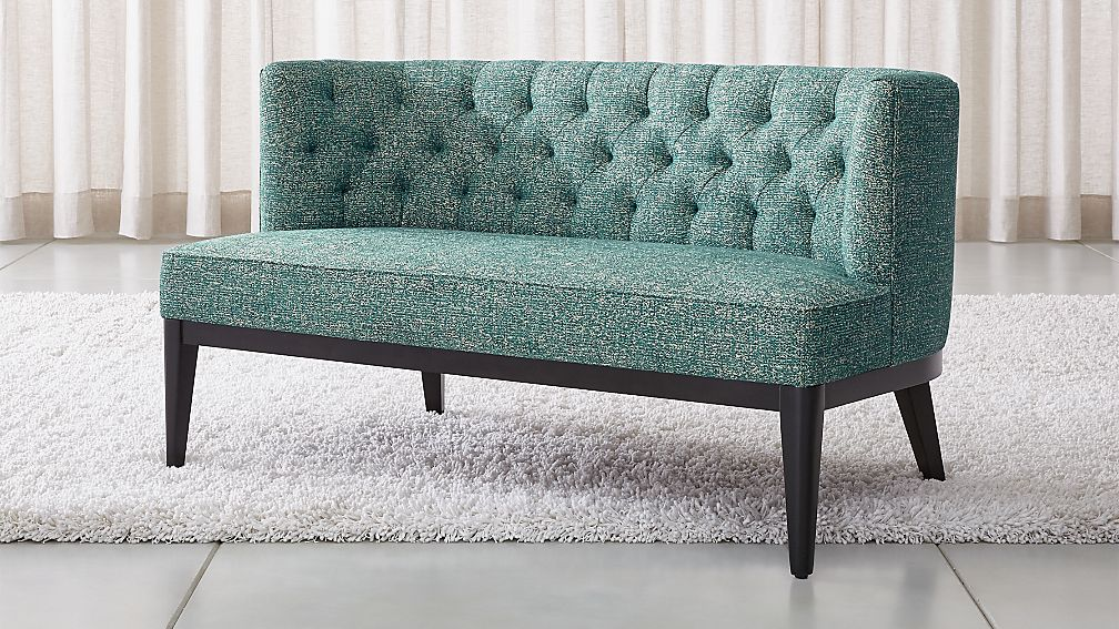 Grayson Tufted Settee - Image 1 of 7