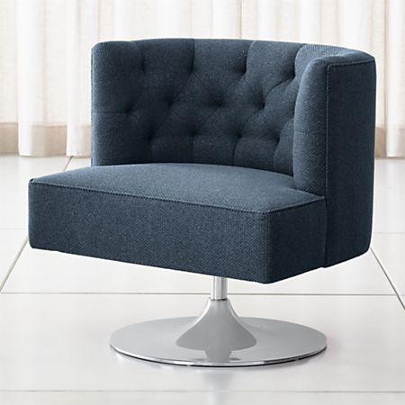 Pleasing Grayson Tufted Swivel Chair Unemploymentrelief Wooden Chair Designs For Living Room Unemploymentrelieforg