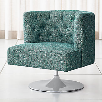 Living Room Chairs Accent Amp Swivel Crate And Barrel