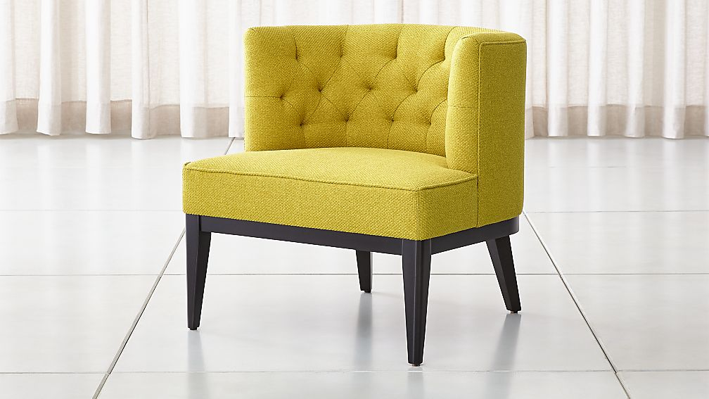 Grayson Tufted Chair Reviews Crate And Barrel