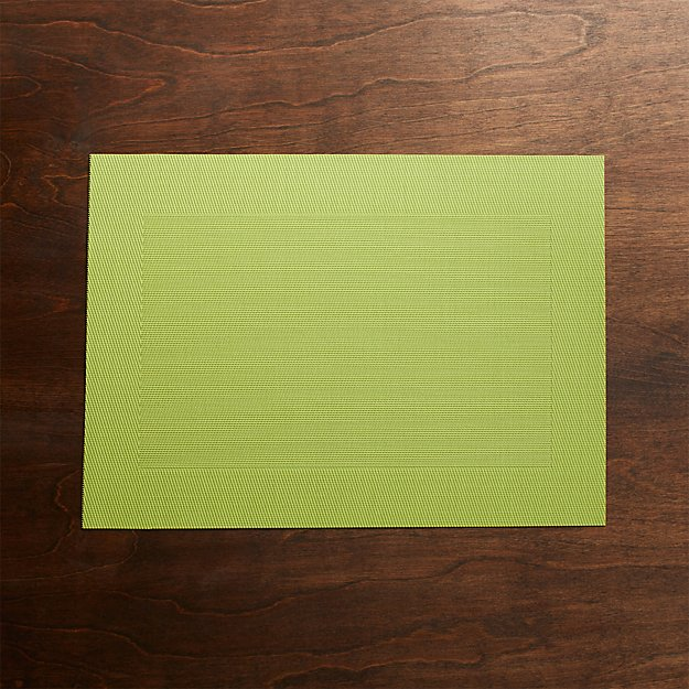 Green Easy Care Placemat