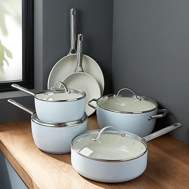 Greenpan Padova Ceramic Nonstick 10 Piece Cookware Set