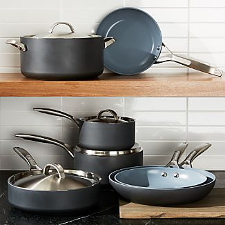 GreenPan ™ Paris Hard-Anodized Nonstick 11-Piece Cookware Set