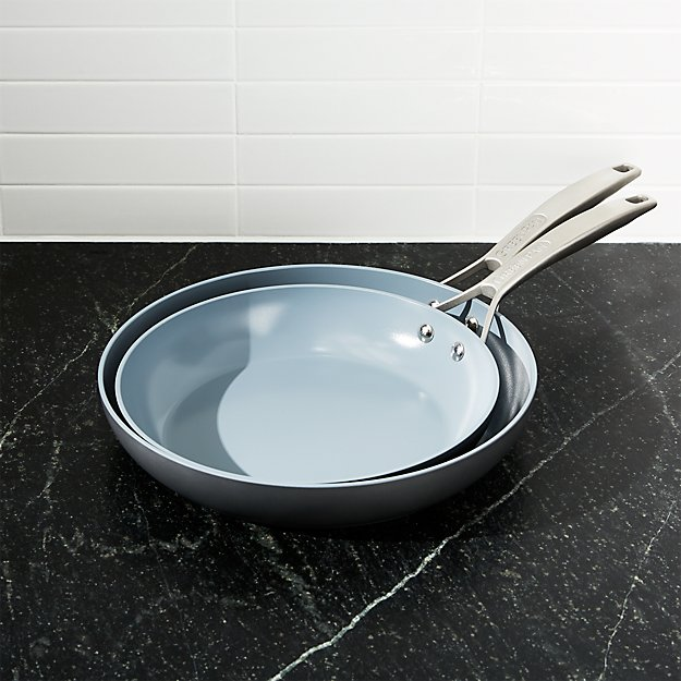GreenPan ™ Paris Hard-Anodized Fry Pan Set - Image 1 of 4