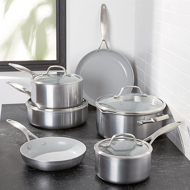 GreenPan ™ Venice Pro 10-Piece Cookware Set - Image 1 of 4