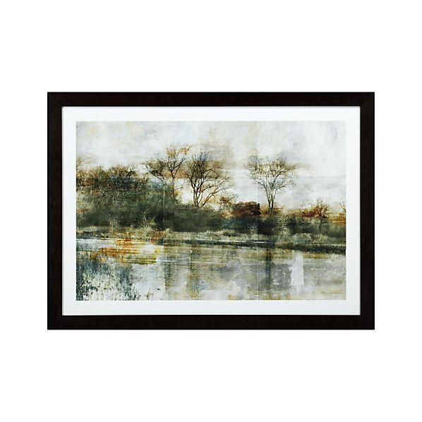Green Trees Landscape Print