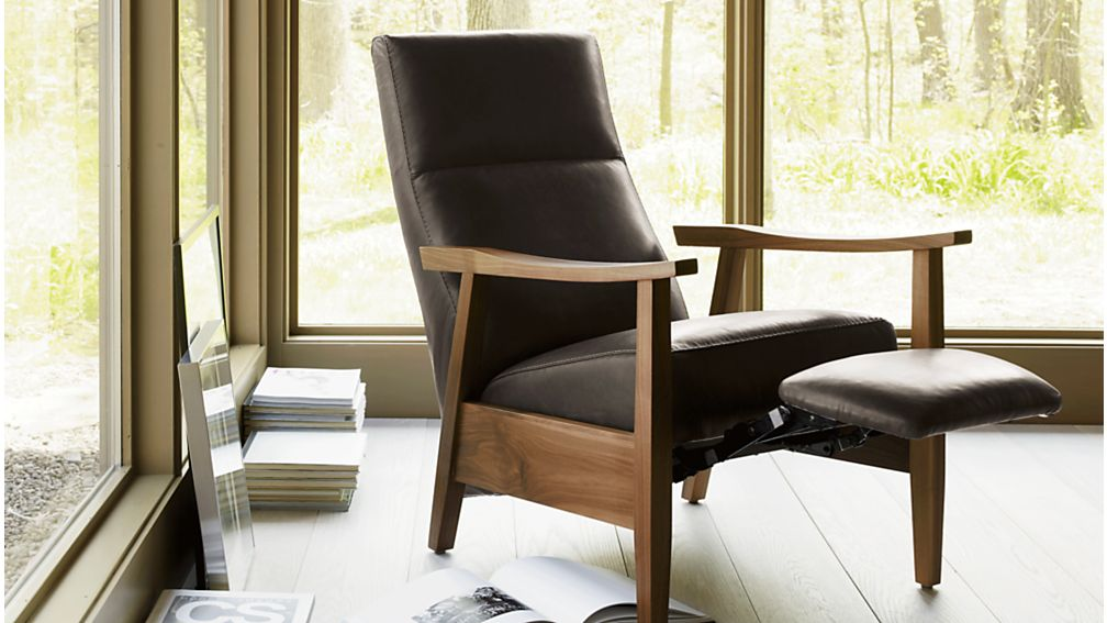 Greer Leather Power Recliner