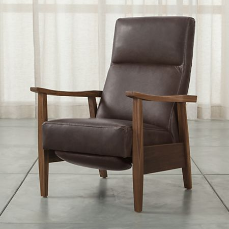 Greer Modern Leather Recliner Reviews