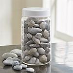 Grey Beach Stones Decorative Filler