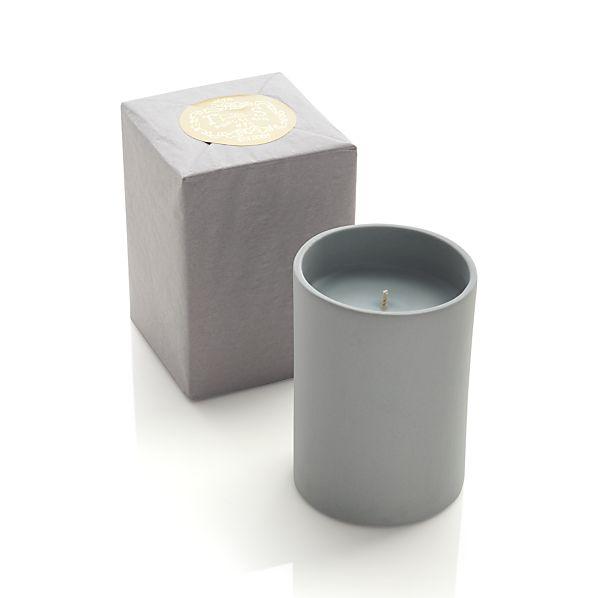 Ceramic Tuberose Candle