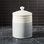 Grey Dip Medium Kitchen Canister