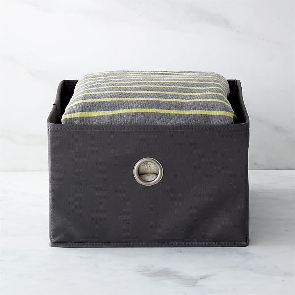 Grey Sweater Bag Drawer