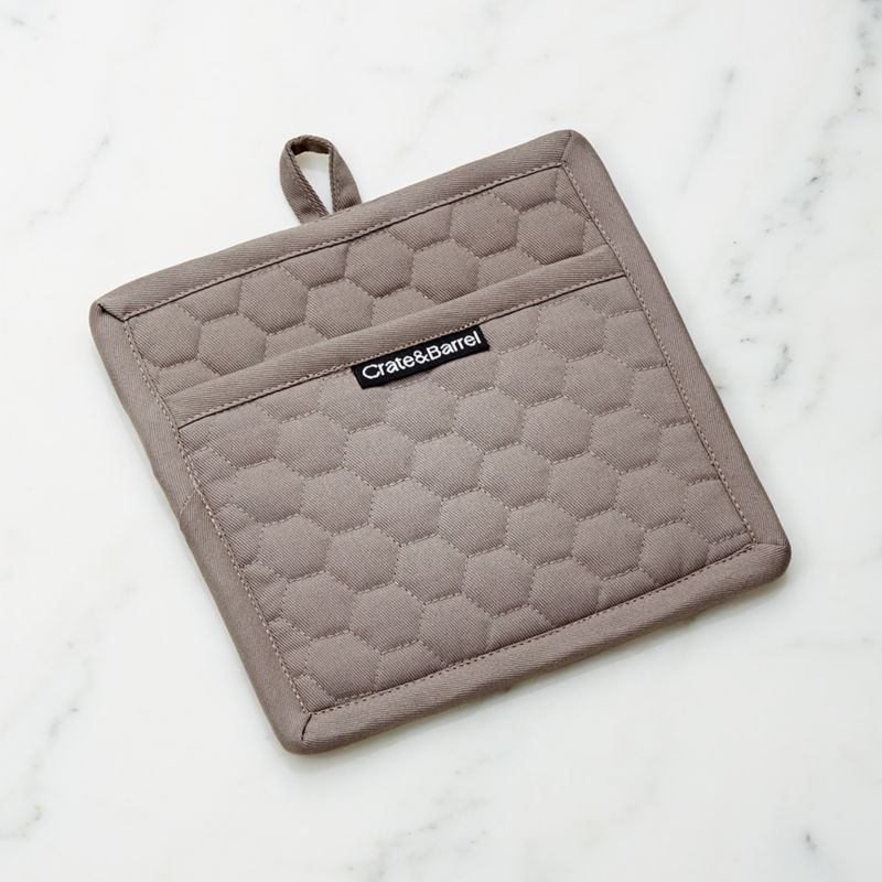 Grey Quilted Pot Holder Reviews