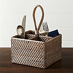Artesia Grey Flatware Caddy