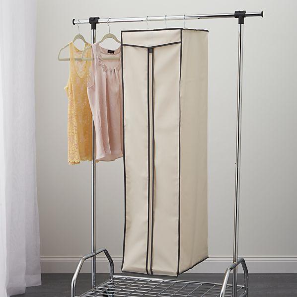 Garment Storage Bag with Grey Trim