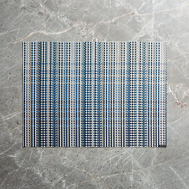 Chilewich ® Grid Blue Placemat