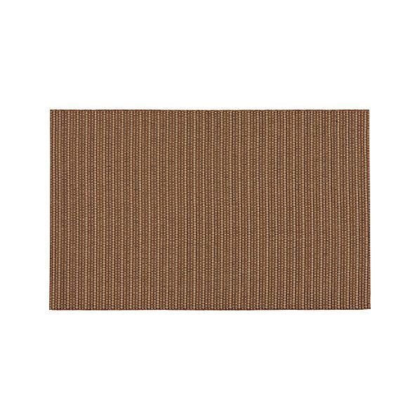 Grid Brown Indoor-Outdoor 3'x5' Rug