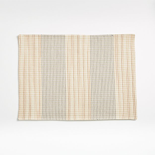 Grid Embroidered Placemat - Image 1 of 4