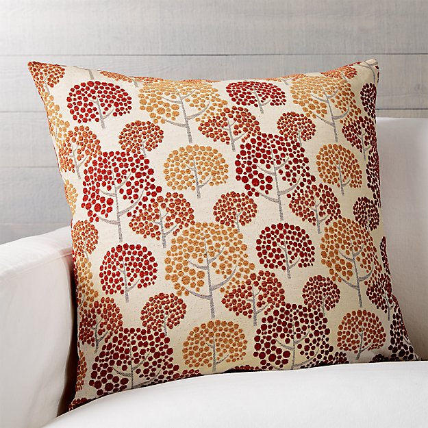 "Grove 23"" Pillow with Down-Alternative Insert"