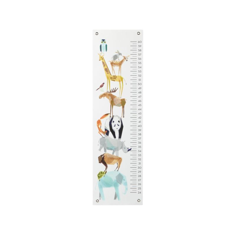 Zoo Animal Growth Chart Reviews Crate And Barrel