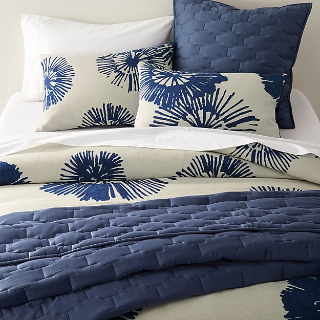 Haana Blue Floral Bed Linens - Image 1 of 4