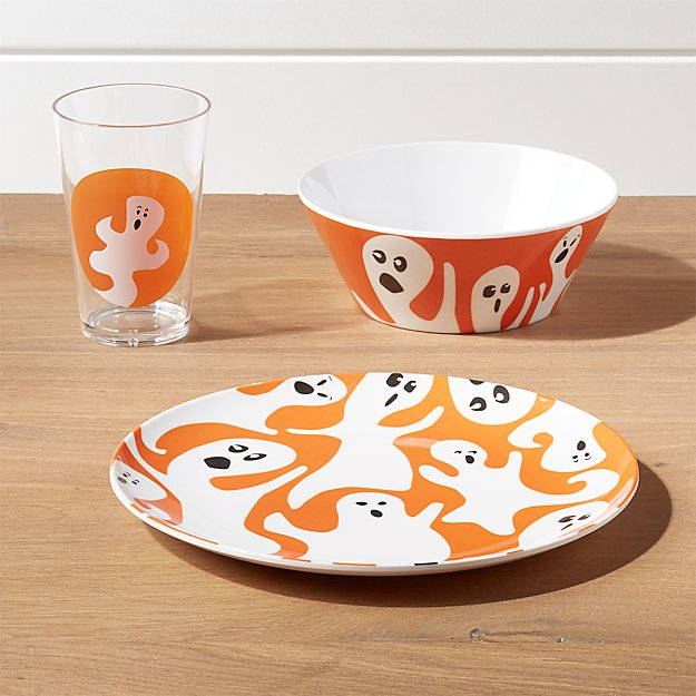 Halloween Ghost 3-Piece Placesetting