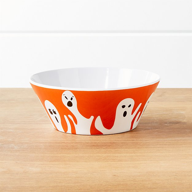 Halloween Ghost Melamine Bowl