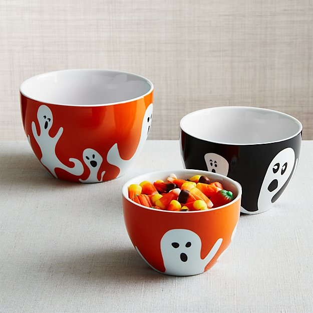 Halloween Ghost Nesting Bowls, Set of 3