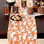 Halloween Ghosts 90  Table Runner