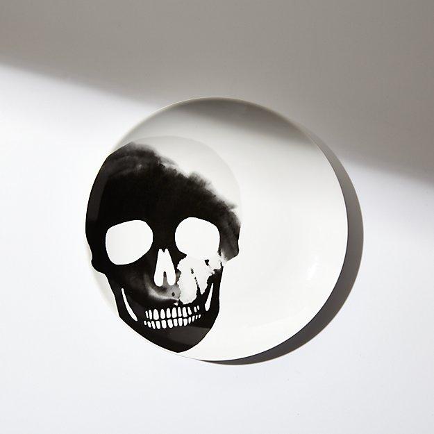 Halloween Skull Salad Plate - Image 1 of 6
