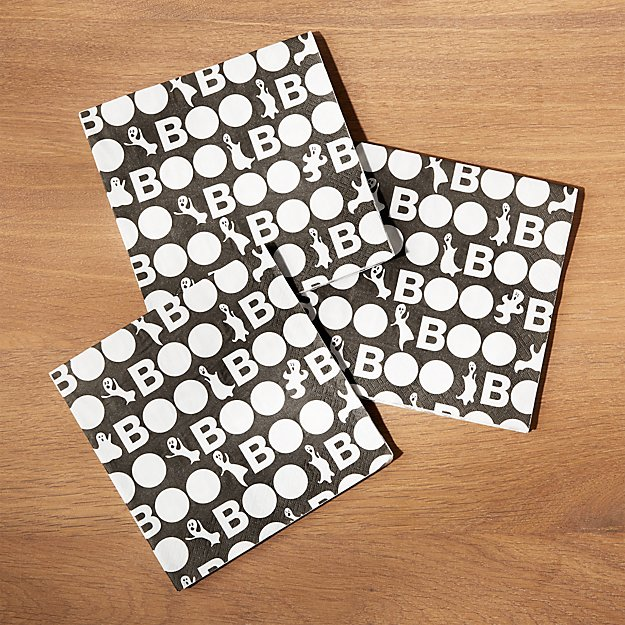 Halloween Ghost Paper Lunch Napkins, Set of 20