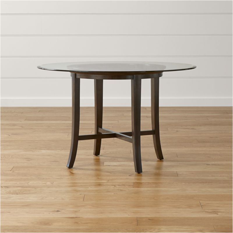 Shop Dining Room Kitchen Tables Crate And Barrel - Marble top circle dining table