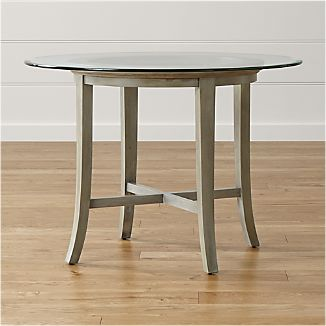 Halo Grey Round Dining Table With 42 Gl Top
