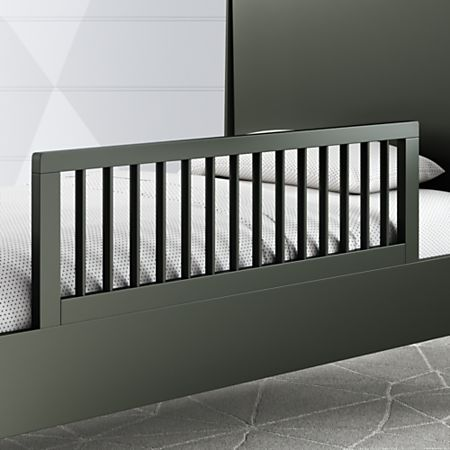 Hampshire Olive Green Bed Rail Crate And Barrel