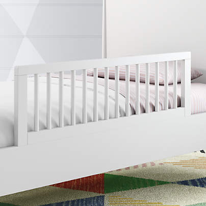 View testHampshire White Bed Rail