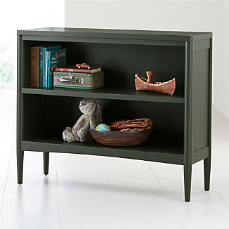 Hampshire Small Olive Green Bookcase Kids