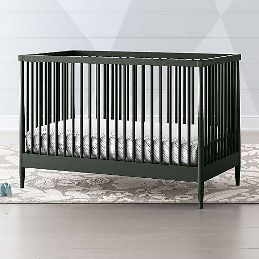 Hampshire Olive Green Crib