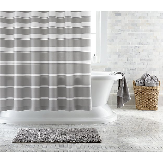 Loop Light Grey Bath Rug Reviews: Loop Light Grey Bath Rug